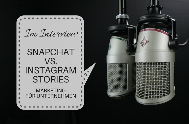 marketing auf snapchat und instagram stories
