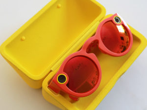 Snapchat Spectacles in Case
