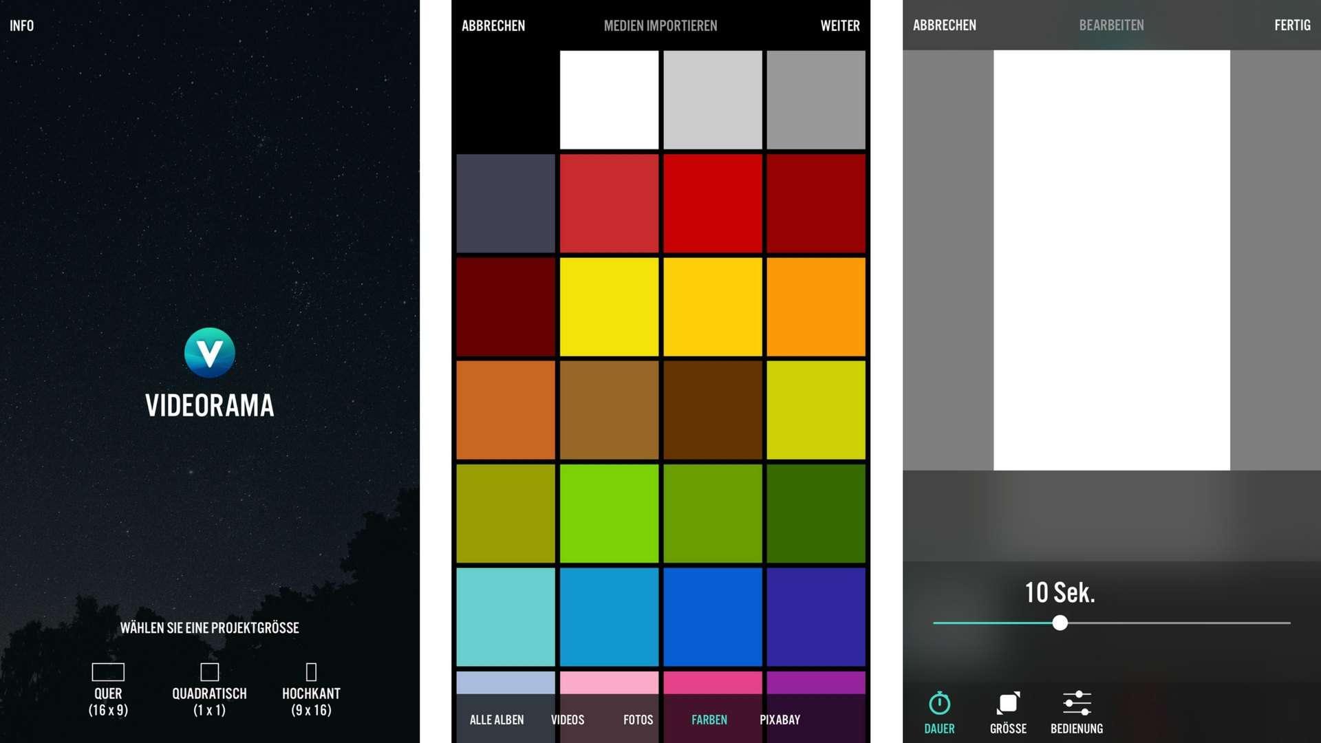 Snapchat Intro Videos mit Videorama: Die drei goldenen Regeln
