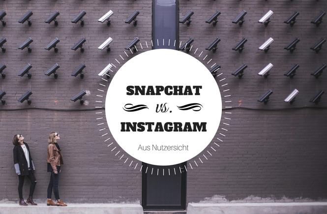 Instagram Stories oder Snapchat - Eine Umfrage