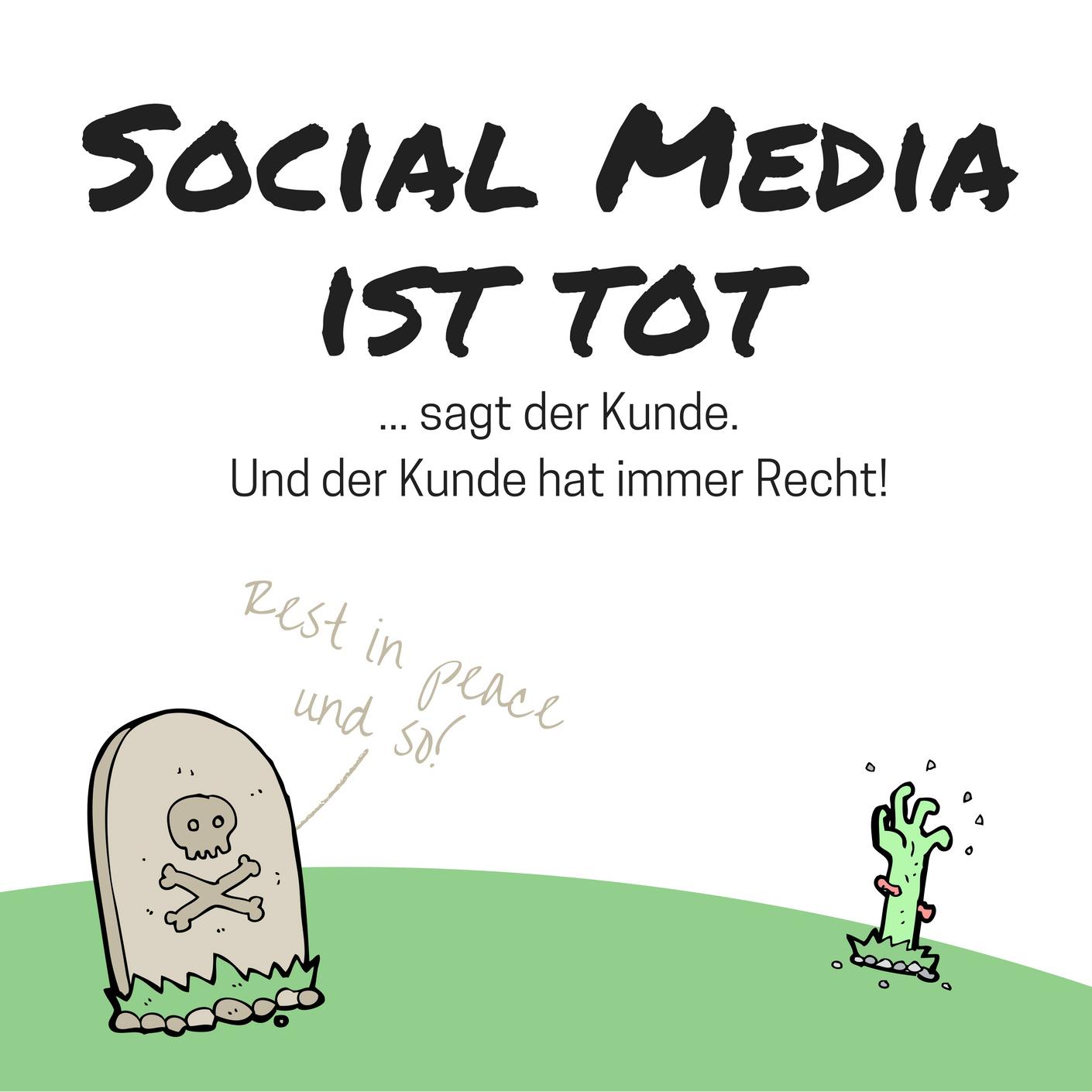 Social Media ist tot - Cover Vorschaubild